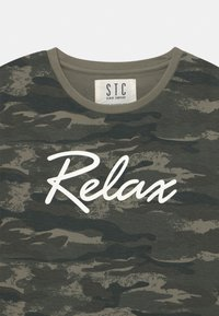 Staccato - TEENAGER - Printtipaita - olive - 2