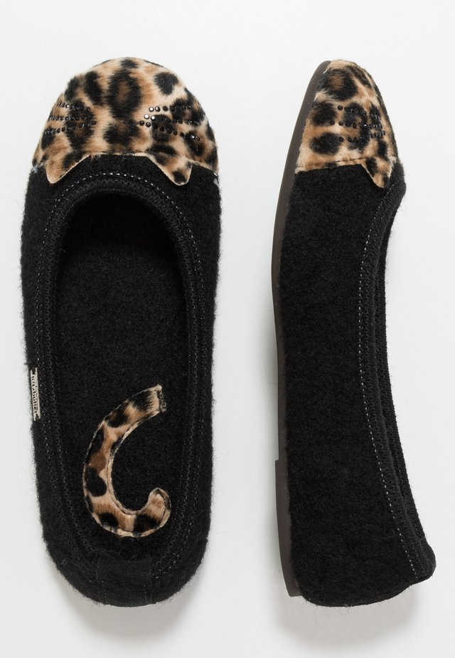 KATZENGESICHT  - Domácí obuv - schwarz