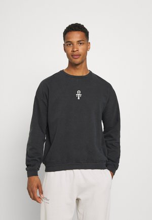 CREW PYRAMID - Sweatshirt - black wash