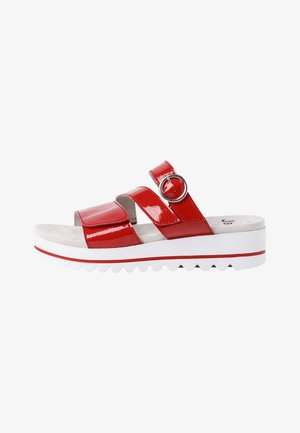 PANTOLETTE - Slippers - red patent