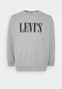 Levi's® Plus - BIG CREW SEASONAL - Sweatshirt - midtone heather grey - 4