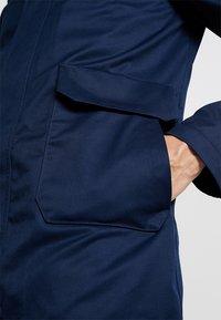 G-Star - GARBER SERVICE TRENCH - Short coat - sartho blue - 5