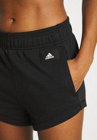 adidas Performance - SHORT - Sports shorts - black - 3