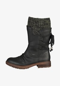 Rieker - Stivali con i lacci - black/grey - 0