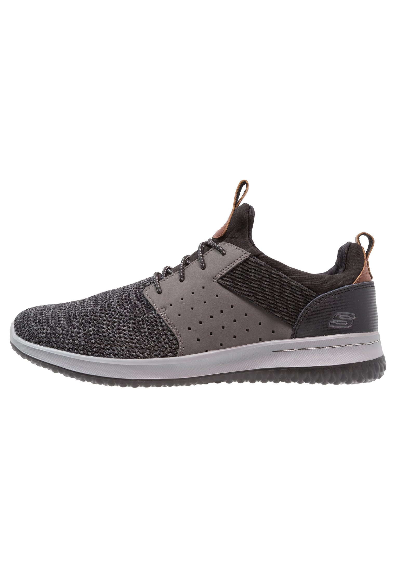 Skechers DELSON Scarpe senza lacci blackgrey Zalando.it