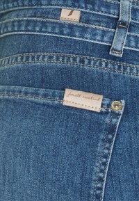 7 for all mankind - PAPERBAG PANT LEFHANRES - Slim fit jeans - mid blue - 2