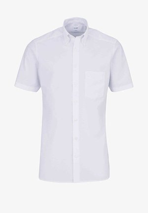 TENDENZ MODERN FIT HALBARM BUTTON DOWN KRAGEN  - Shirt - weiß