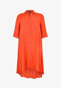 Live Unlimited London - BURNT  - Shirt dress - orange - 1