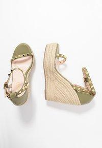 RAID - KORI - Sandaler med høye hæler - sage green - 3