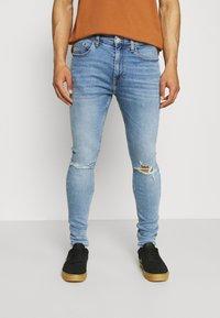 Tommy Jeans - FINLEY SUPER SKINNY - Skinny-Farkut - denim - 0