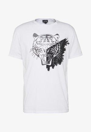 TIGER - T-shirts print - white