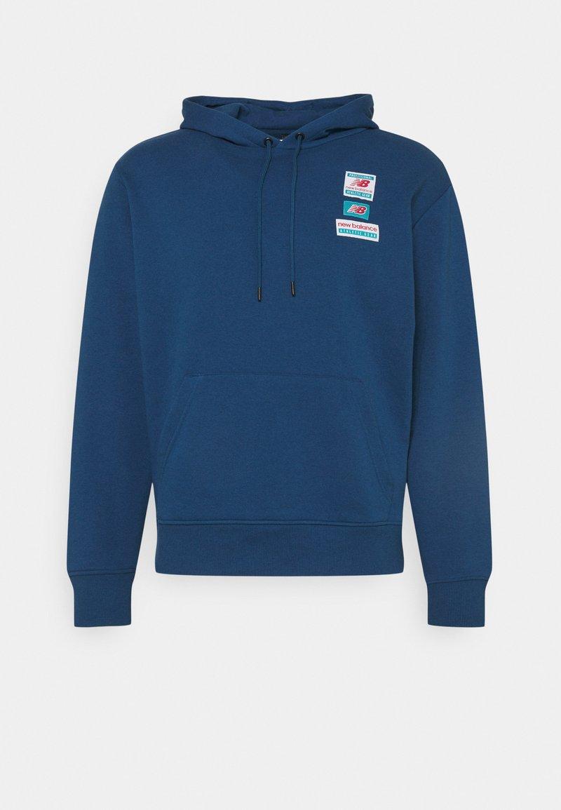New Balance - ESSENTIALS FIELD DAY HOODIE - Sweatshirt - captain blue