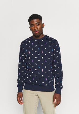 LONG SLEEVE - Sweatshirt - dark blue
