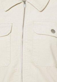 JDY - JDYSHIRAZ LIFE ZIP JACKET - Summer jacket - silver birch - 2