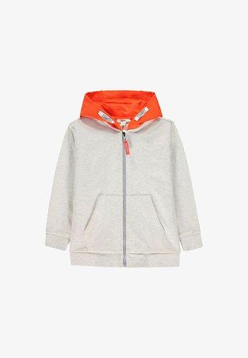 Zip-up sweatshirt - silver