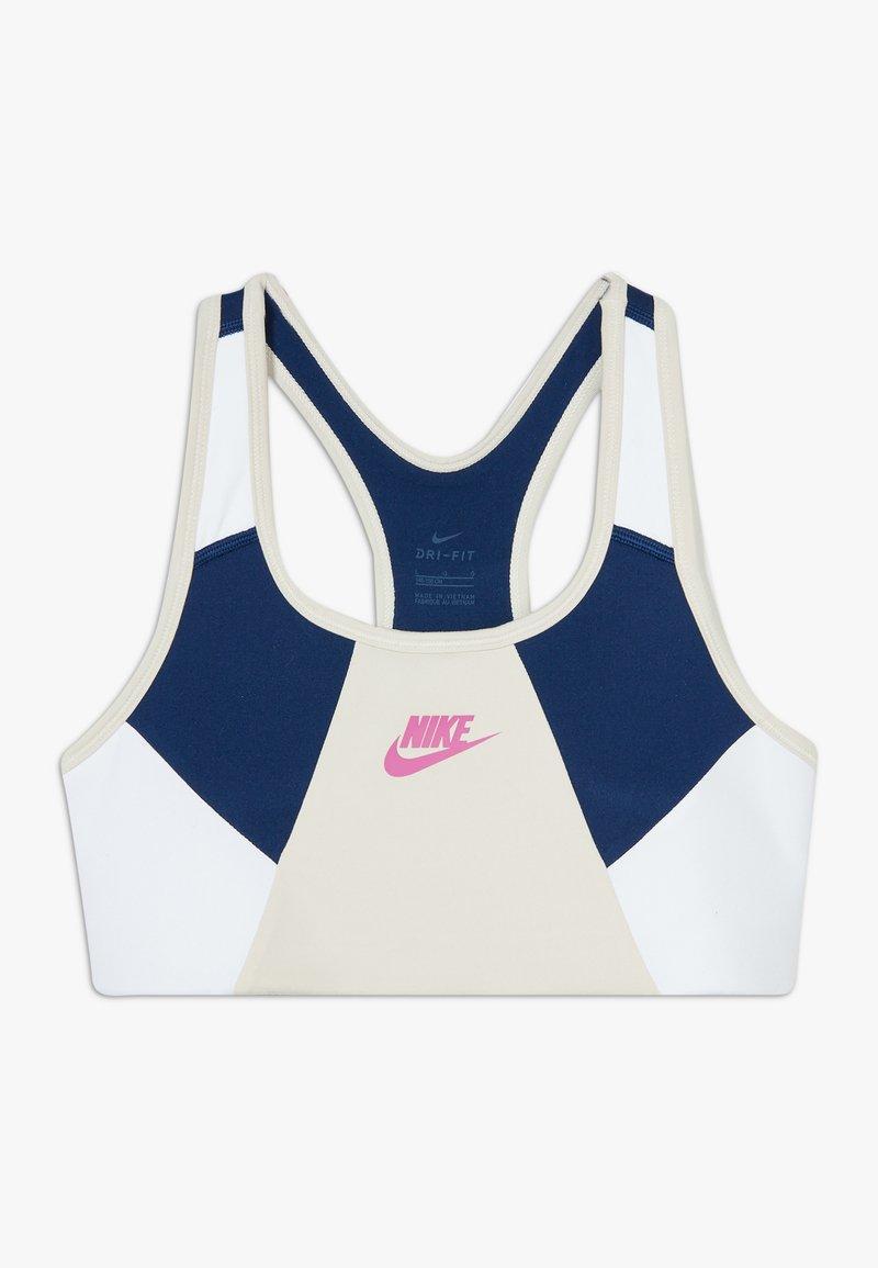 Nike Sportswear - NIKE SPORT-BH FÜR ÄLTERE KINDER (MÄDCHEN) - Bustier - orewood brown/blue void/white/fire pink