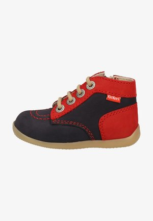 Baby shoes - red navy