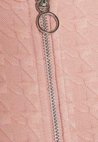 ONLY - ONLMYNTHE JOYCE - Zip-up hoodie - misty rose - 5