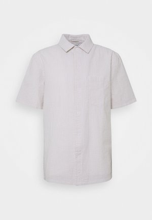 BARRY STRIPED SHIRT - Chemise - beige/white