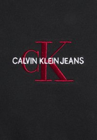 Calvin Klein Jeans - NEW ICONIC ESSENTIAL TEE - Print T-shirt - black
