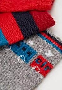 Paul Smith Junior - BAMBINO GIFT BOX SOCKS 3 PACK - Ponožky - marl grey - 1