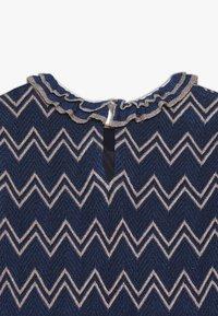 Missoni Kids - DRESS - Pletené šaty - blue - 2