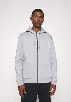 DEERIO - Zip-up sweatshirt - silver