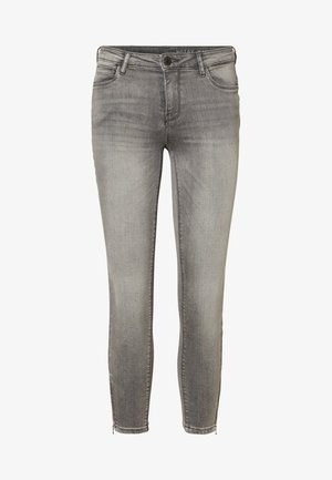 Slim fit jeans - light grey denim