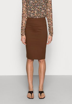 TANNY SKIRT - Pencil skirt - pecan