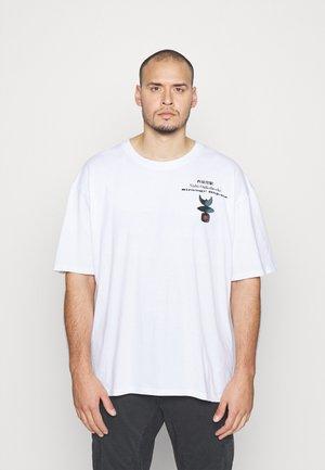 STRANGE OBJECTS - T-shirt imprimé - white