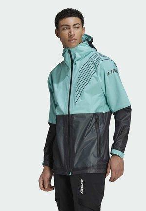 TERREX 3-LAYER ZUPAHIKE - Waterproof jacket - green