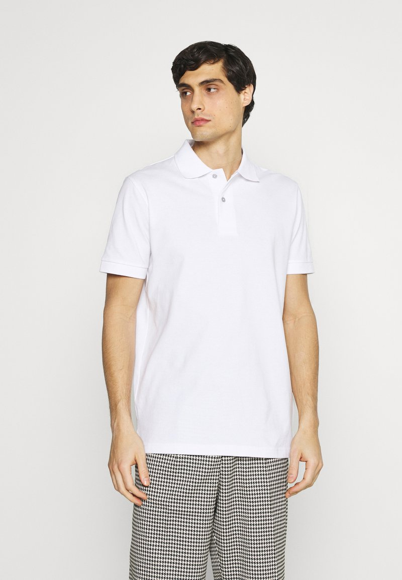 Selected Homme - NEO - Piké - bright white