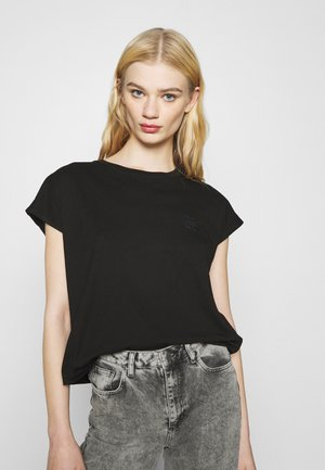 CONSTRUCTED LOOSE - T-shirts med print - black
