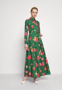 IVY & OAK - VALANCE DRESS MIDI - Day dress -  secret garden green - 1