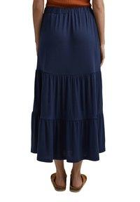 Esprit - A-line skirt - navy - 4