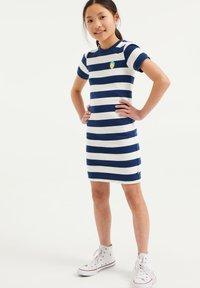 WE Fashion - Jumper dress - white - 2
