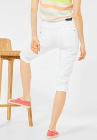 Cecil - Denim shorts - weiß - 2
