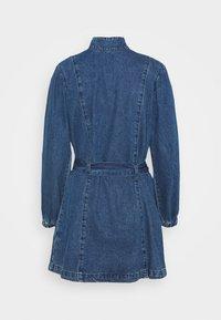LADIES DRESS - Denimové šaty - dark stonewash