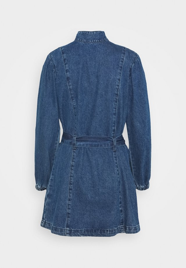 LADIES DRESS - Robe en jean - dark stonewash