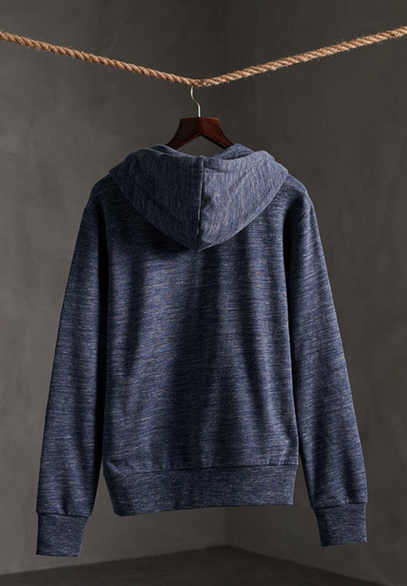 Superdry veste en sweat zippée - midnight navy space dye QprTx1xZ