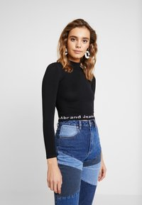 Abrand Jeans - A BROOKE - Jumper - black/white - 0