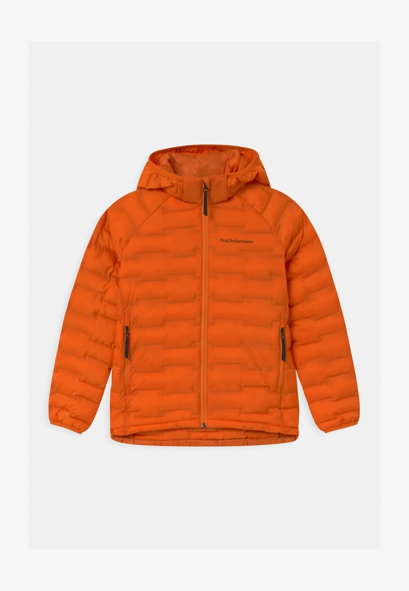 Peak Performance - JUNIOR ARGON LIGHT HOOD UNISEX - Zimní bunda - orange altitude