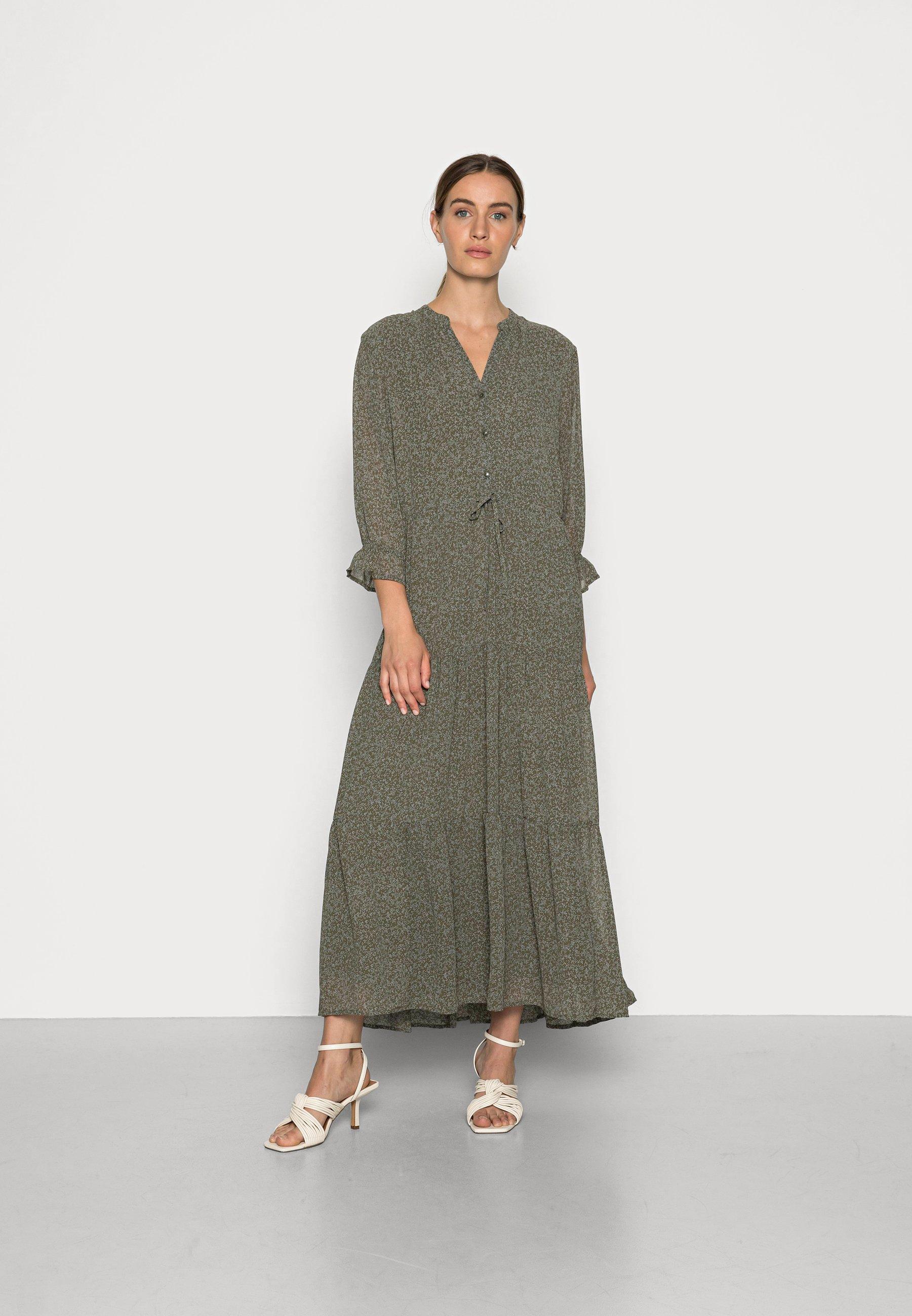 Mujer SLFGAIA DAMINA ANKLE DRESS  - Vestido largo