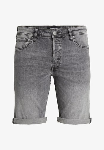 Denim shorts - grey denim