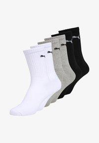 Puma - SPORT 6 PACK UNISEX - Sports socks - white/grey/black - 0