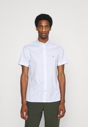 SLIM NATURAL SOFT  - Shirt - white/calm blue