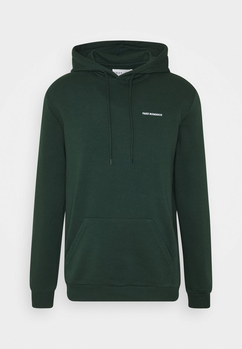 Pier One - UNISEX - Felpa con cappuccio - dark green