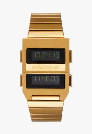 ARCHIVE M3 - Orologio digitale - gold-coloured