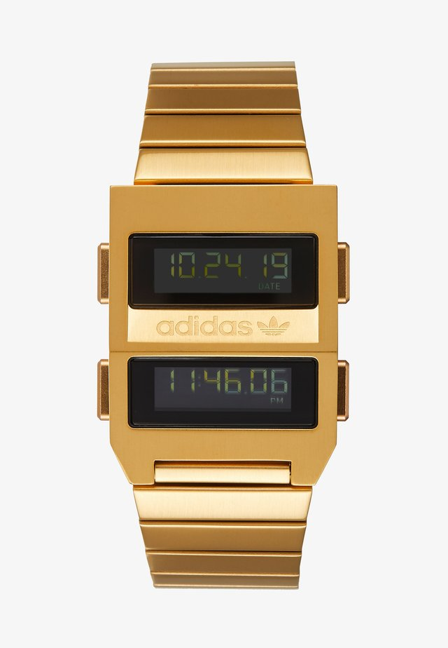 ARCHIVE M3 - Digitaal horloge - gold-coloured