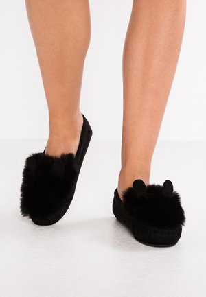 LOAFER MOUSE - Pantofole - black